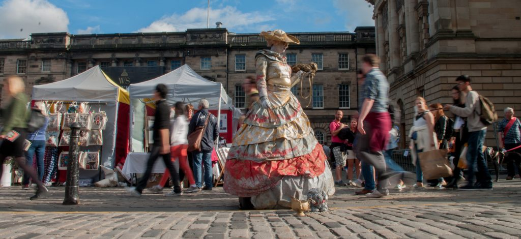 Edinburgh Fringe Photography Course Shutter Speed Motion Blur Long Exposure